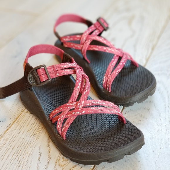 09e25b1a7 Chaco Shoes - CHACO ZX1 Unaweep Garden Pink Sandals womens 7 M